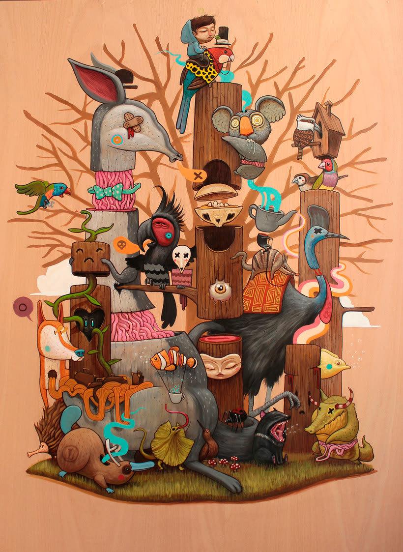 Dulk: una noche de fiebre ilustrada 2