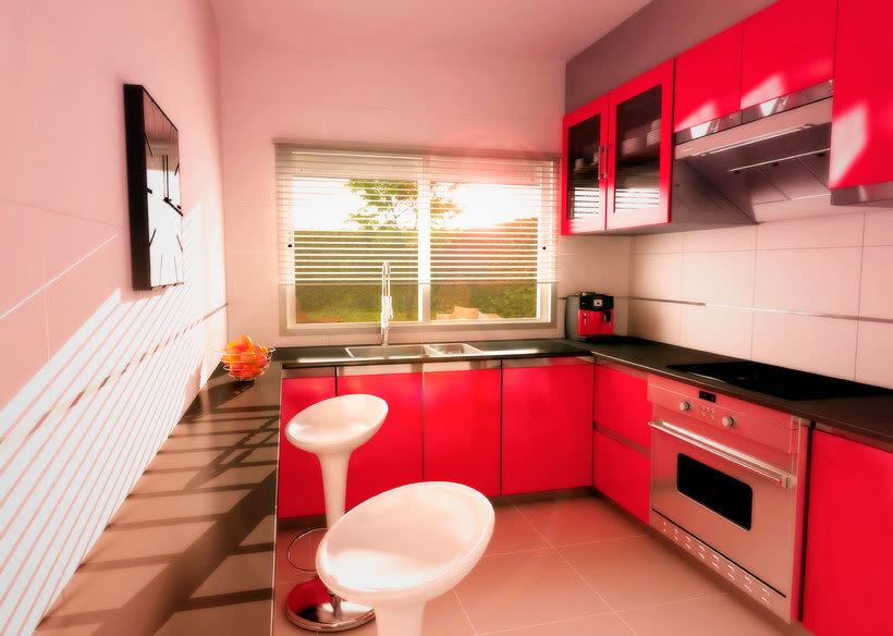 InfoArquitectura 3D - Promoción Inmobiliaria - Chalet 3