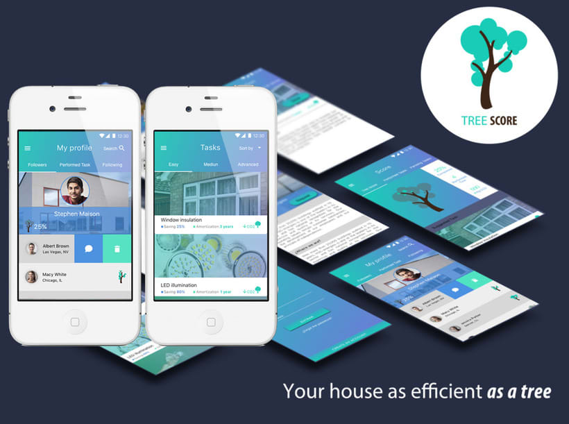 Tree Score - Mi Proyecto del curso: Diseño de Interfaces con Sketch 0