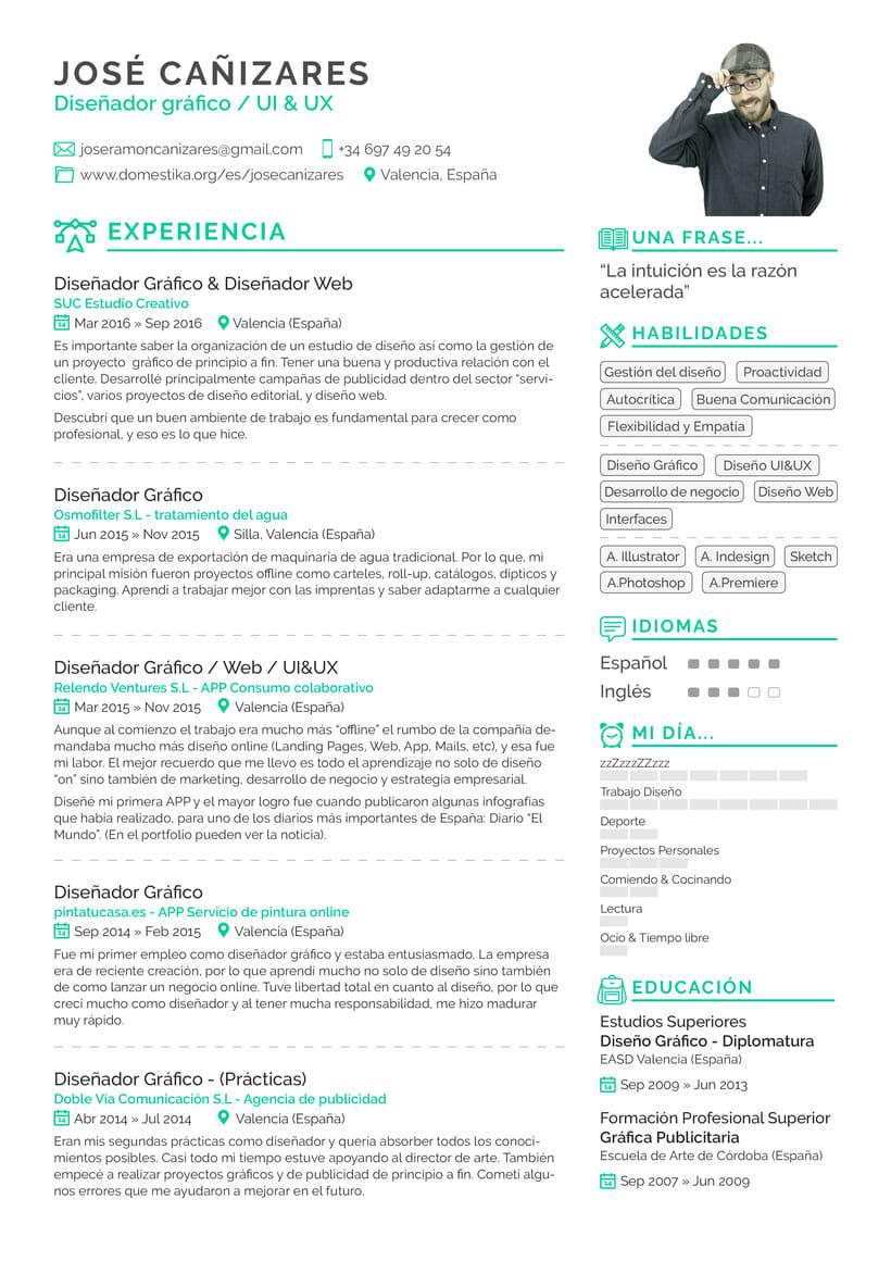 Curriculum Vitae | Domestika