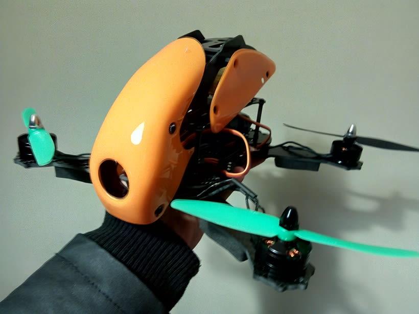 Construcción Drone Carreras 0