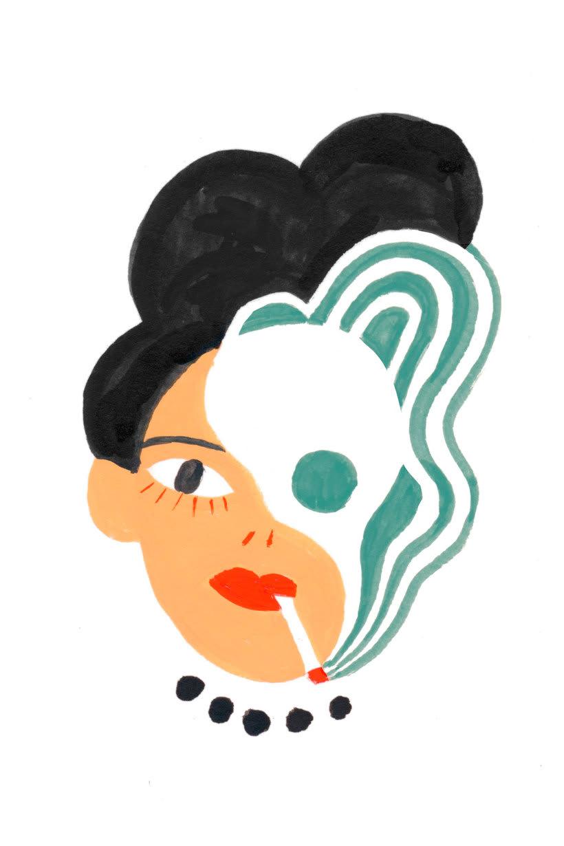Women who draw, un archivo de mujeres ilustradoras 17