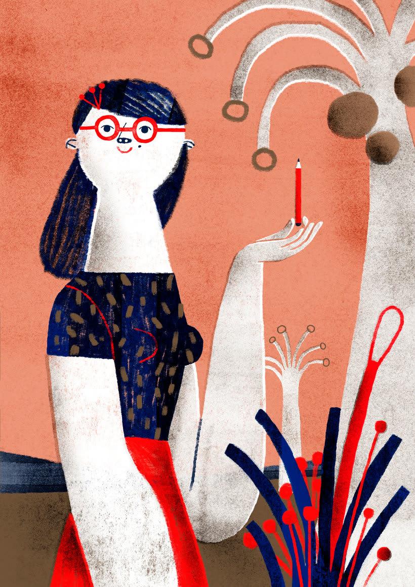 Women who draw, un archivo de mujeres ilustradoras 37