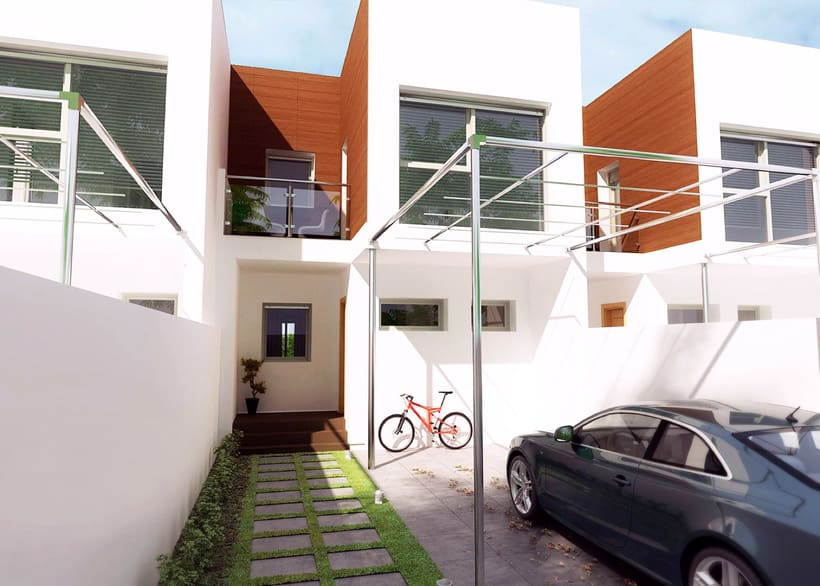 InfoArquitectura 3D - Promoción Inmobiliaria - Chalet 8