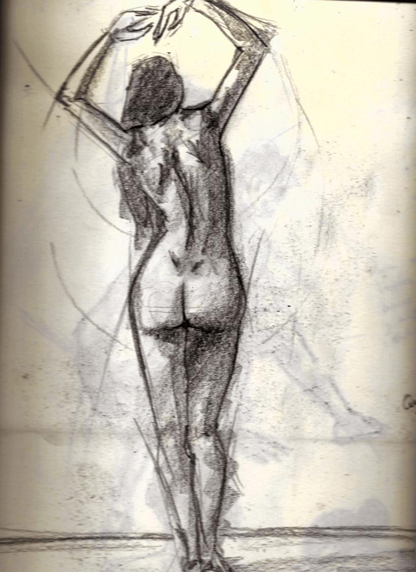 Mis trabajos de Anatomía Humana y Movimiento.   Domestika