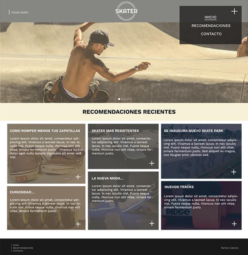 Entrega Diseño de Identidad Coorporativa para Web 5