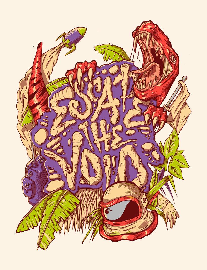 Le Monsta: ilustración y lettering made in Colombia 5