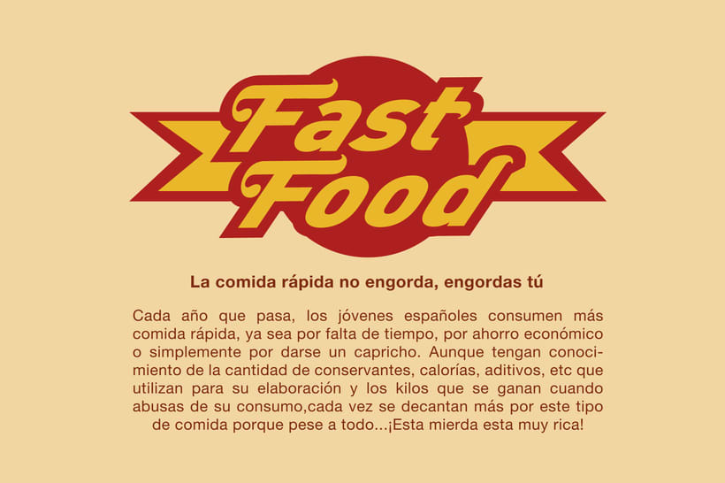 Fast Food infography 0