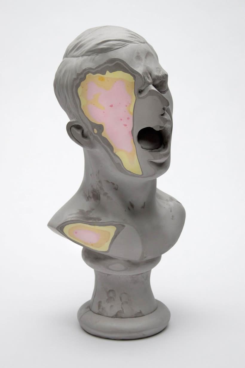 Clasicismo y psicodelia en las esculturas de Christina A. West 1