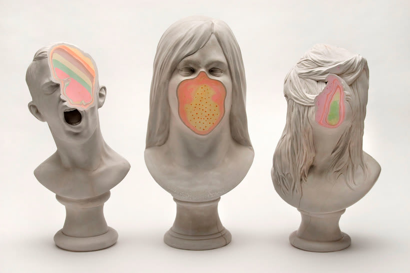 Clasicismo y psicodelia en las esculturas de Christina A. West 4
