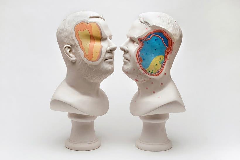 Clasicismo y psicodelia en las esculturas de Christina A. West 8