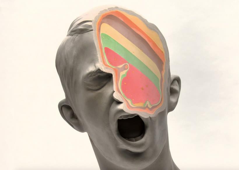 Clasicismo y psicodelia en las esculturas de Christina A. West 9