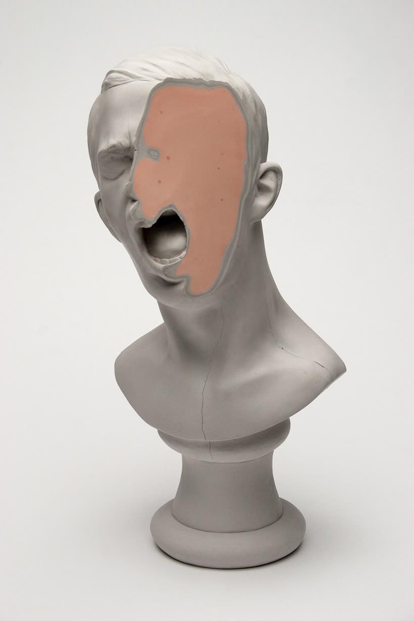 Clasicismo y psicodelia en las esculturas de Christina A. West 10