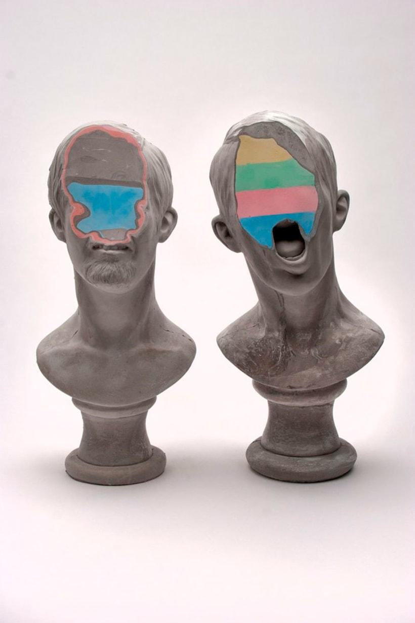 Clasicismo y psicodelia en las esculturas de Christina A. West 11
