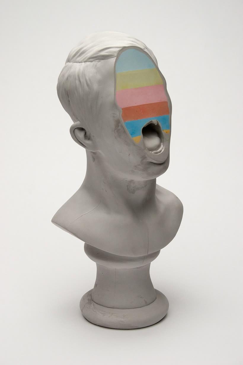 Clasicismo y psicodelia en las esculturas de Christina A. West 12