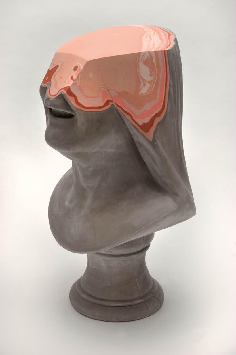 Clasicismo y psicodelia en las esculturas de Christina A. West 13