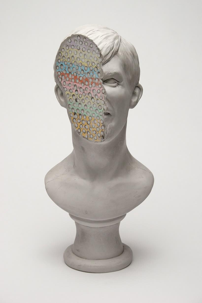 Clasicismo y psicodelia en las esculturas de Christina A. West 14