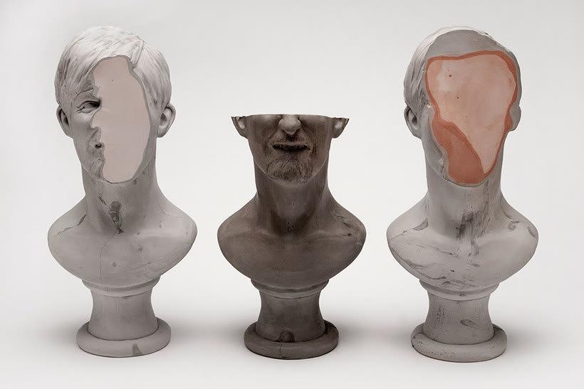 Clasicismo y psicodelia en las esculturas de Christina A. West 15