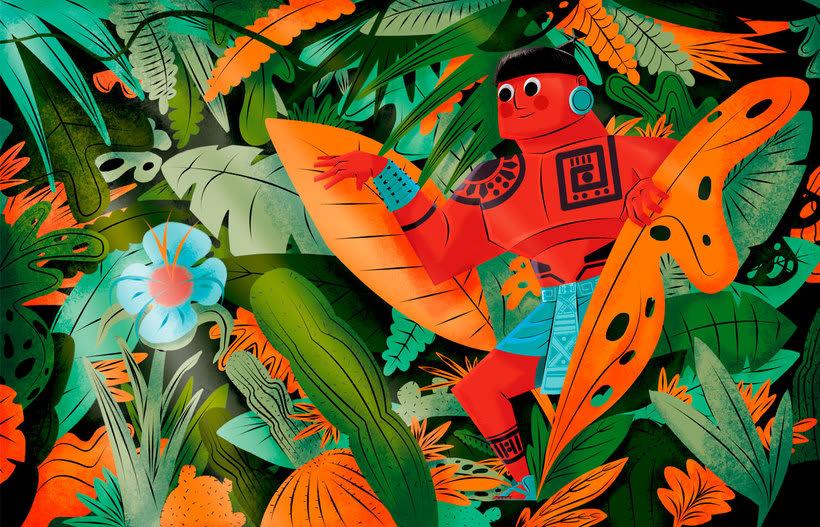 Jhonny Núñez, ilustraciones con sabor multicultural 1