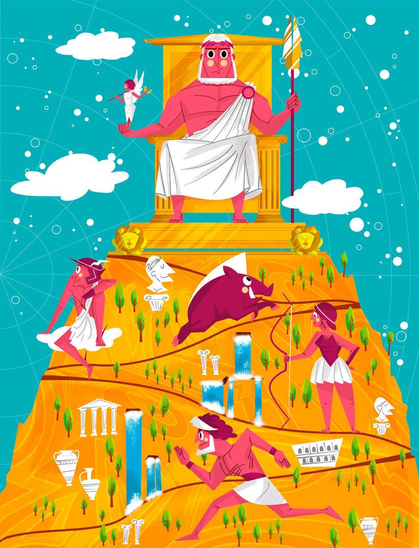 Jhonny Núñez, ilustraciones con sabor multicultural 5