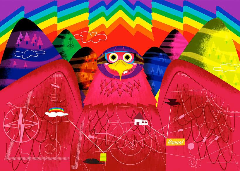 Jhonny Núñez, ilustraciones con sabor multicultural 7