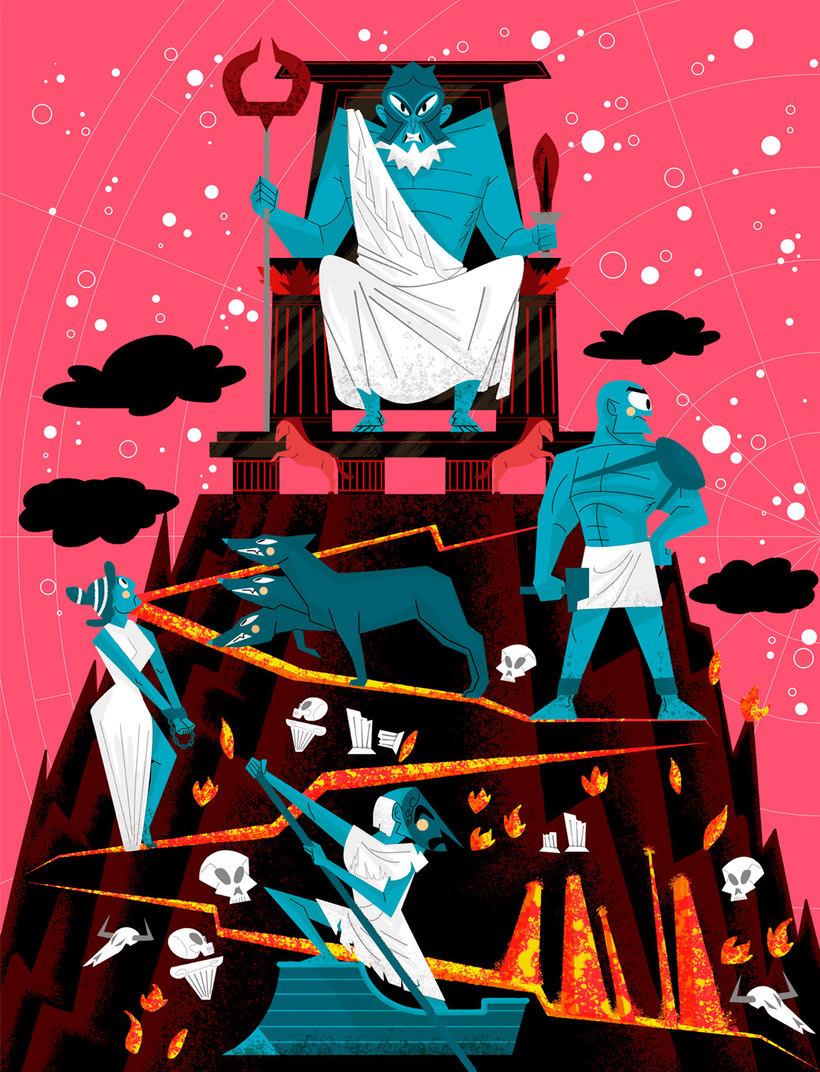 Jhonny Núñez, ilustraciones con sabor multicultural 11