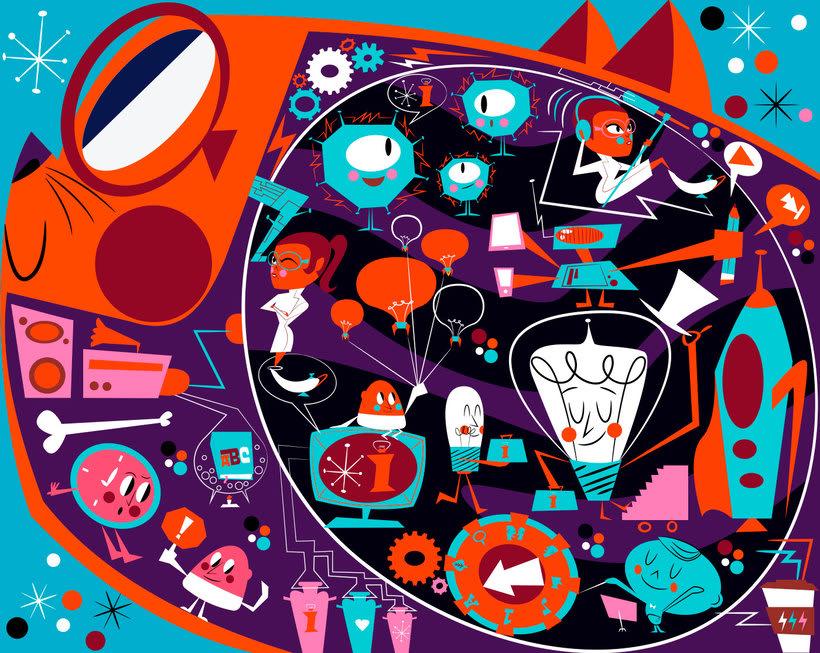 Jhonny Núñez, ilustraciones con sabor multicultural 15