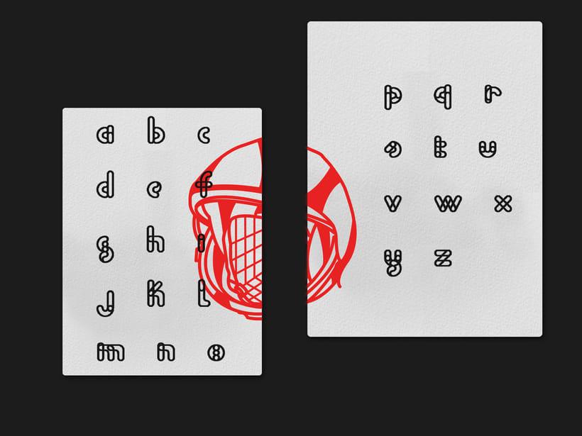 URANO / Typeface 8