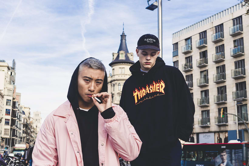 PAUSE MAG MEETS: THE COOL KIDS IN BARCELONA 0