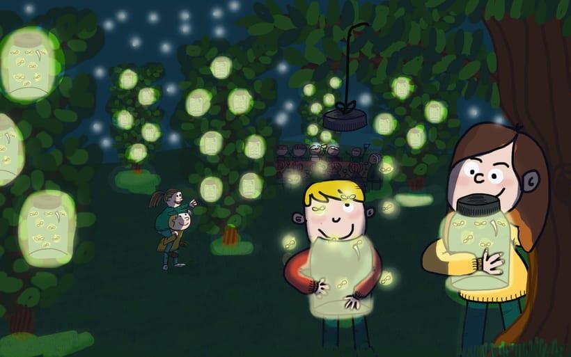 Noches mágicas al aire libre -1