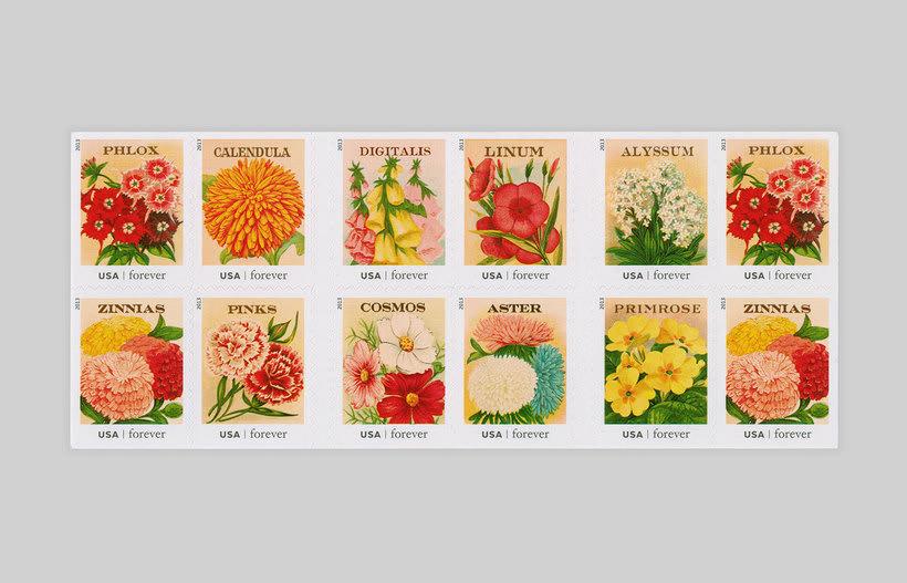 ¿Quién diseña los sellos postales? 11