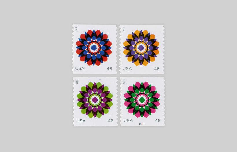 ¿Quién diseña los sellos postales? 14