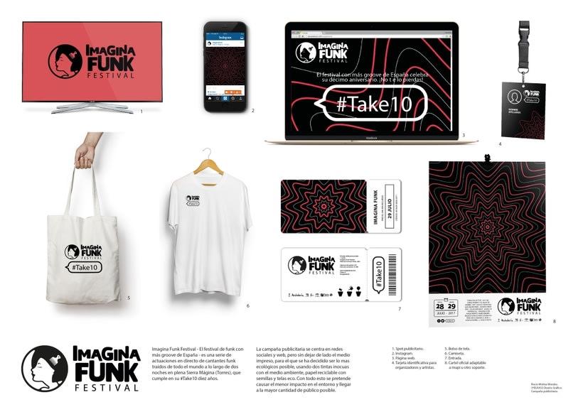 Imagina Funk Festival #Take10 - Campaña publicitaria 13