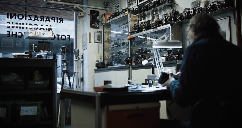 El arte perdido de reparar cámaras analógicas 4