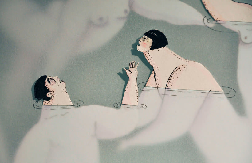 Las ilustraciones pasadas por agua de Sonia Alins 1