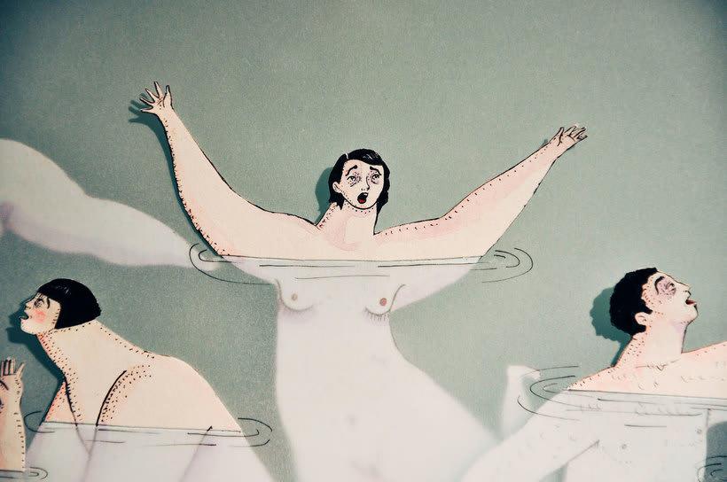 Las ilustraciones pasadas por agua de Sonia Alins 6