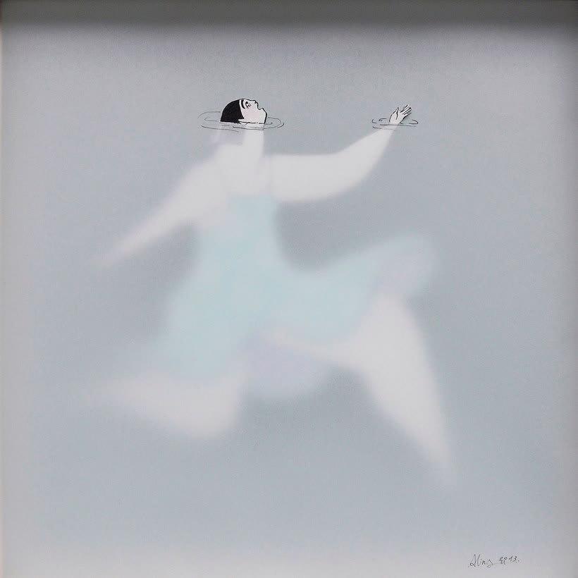 Las ilustraciones pasadas por agua de Sonia Alins 7