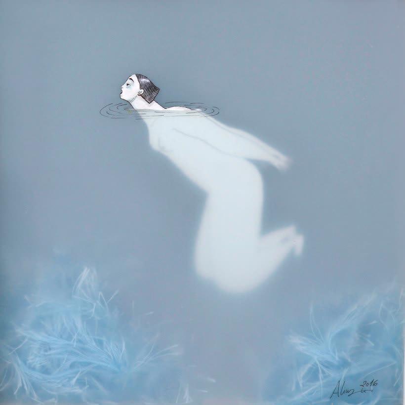 Las ilustraciones pasadas por agua de Sonia Alins 13