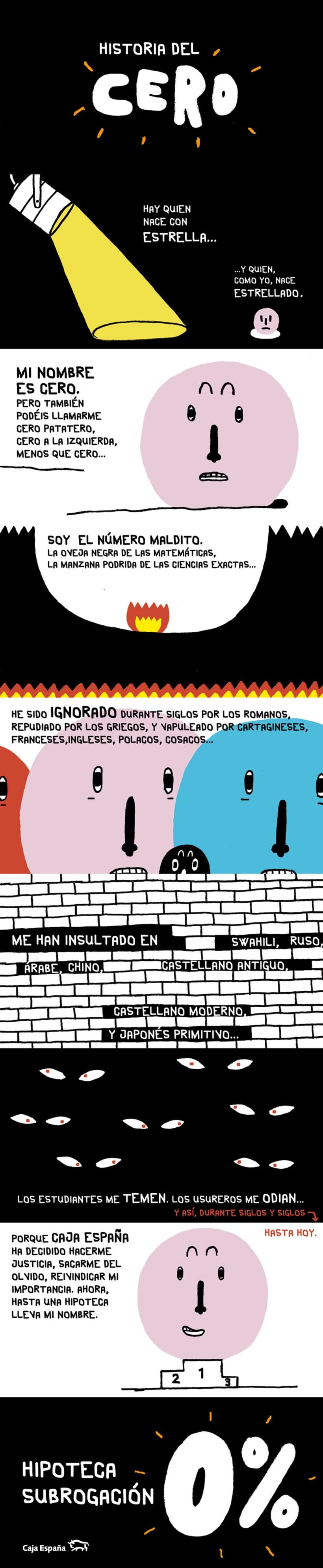Caja España: folleto Hipoteca Subrogación 1