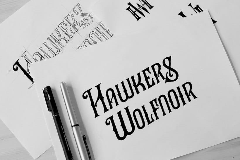 El lettering deviene logotipo de la mano de David Sandén 22