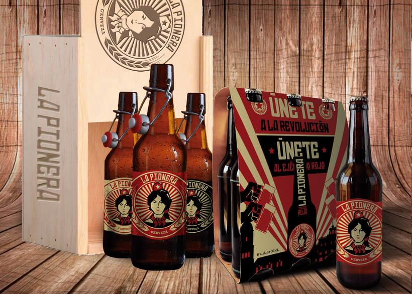 Cerveza La Pionera 2