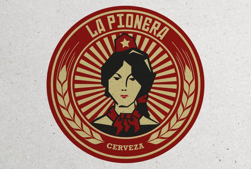 Cerveza La Pionera 1