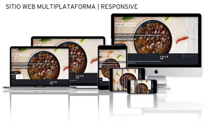 Sitio Web | RESPONSIVE: www.luzdelunarestaurante.com -1