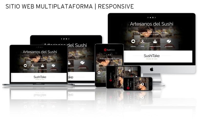 Sitio Web | RESPONSIVE: www.sushitake.es -1