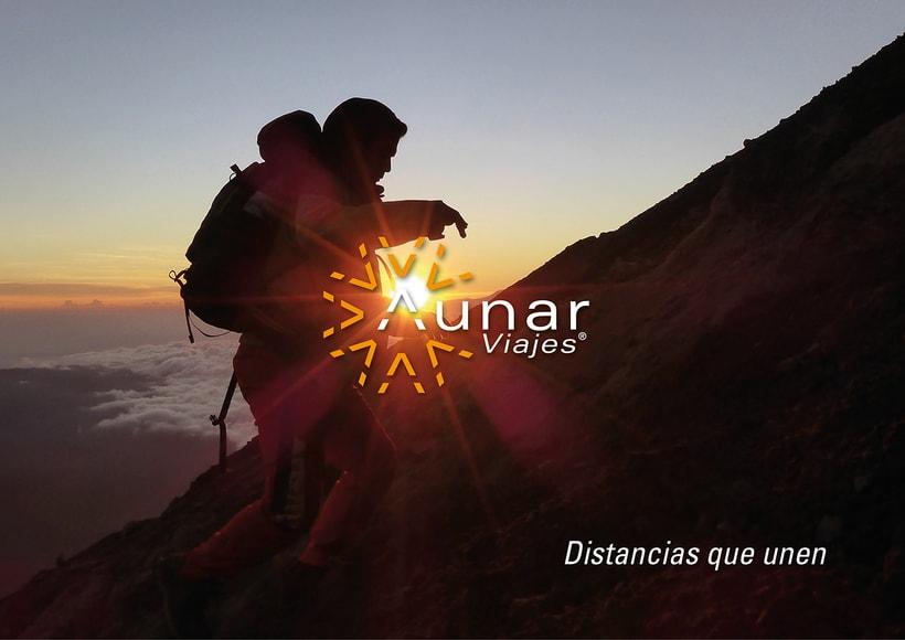 Aunar: Branding y eslogan para agencia de viajes 5