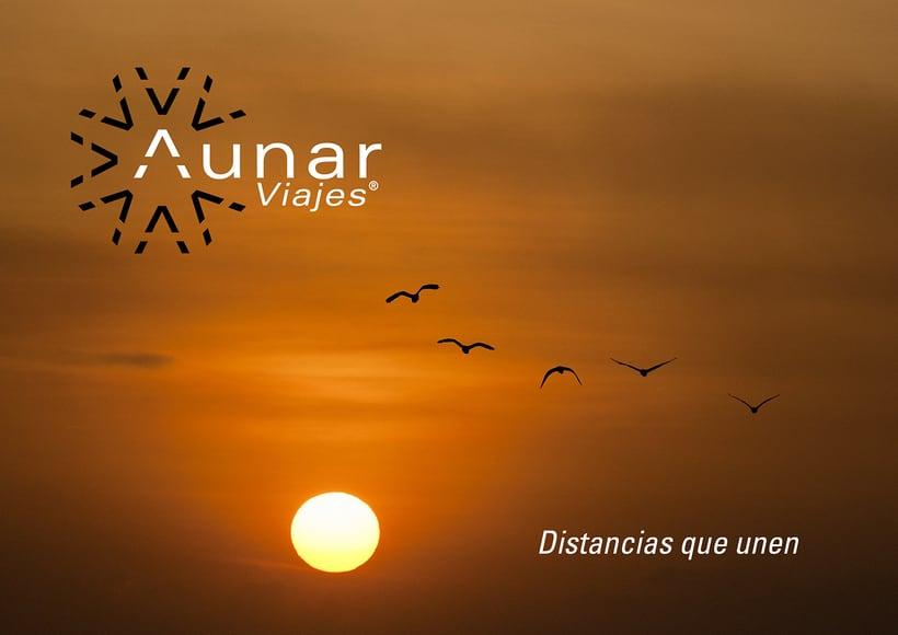 Aunar: Branding y eslogan para agencia de viajes 7