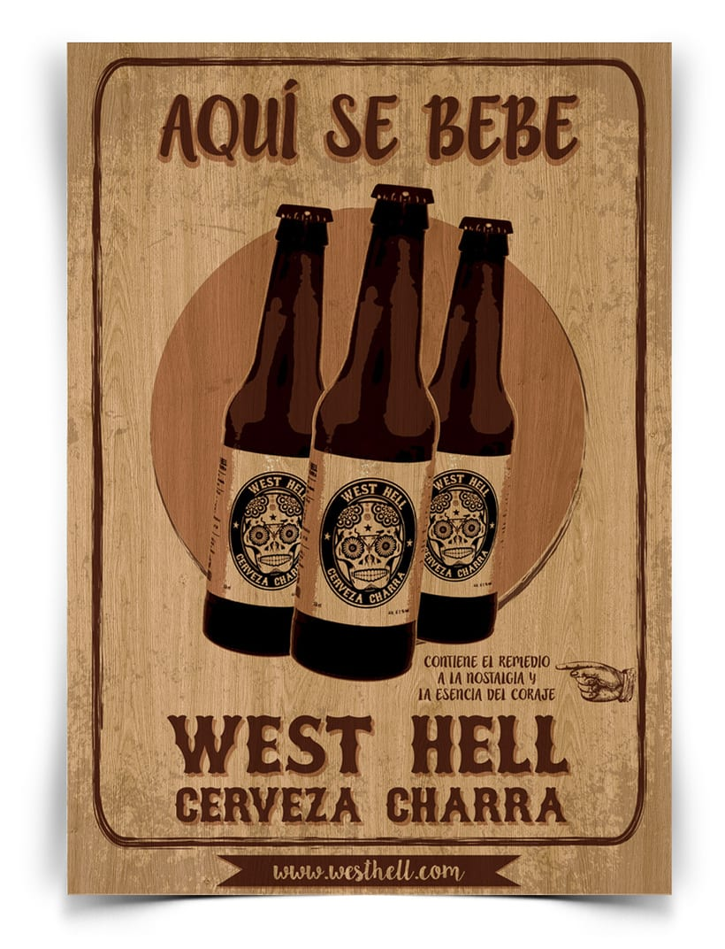 West Hell. Cerveza Charra 3