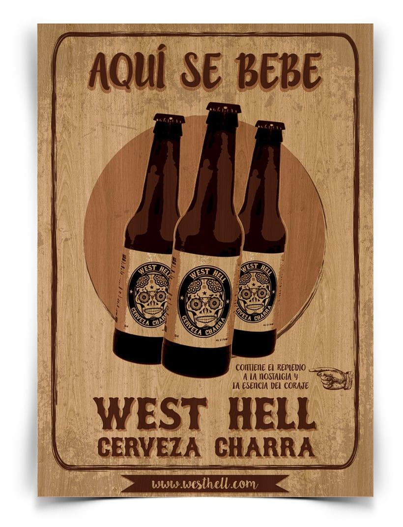 West Hell. Cerveza Charra 3