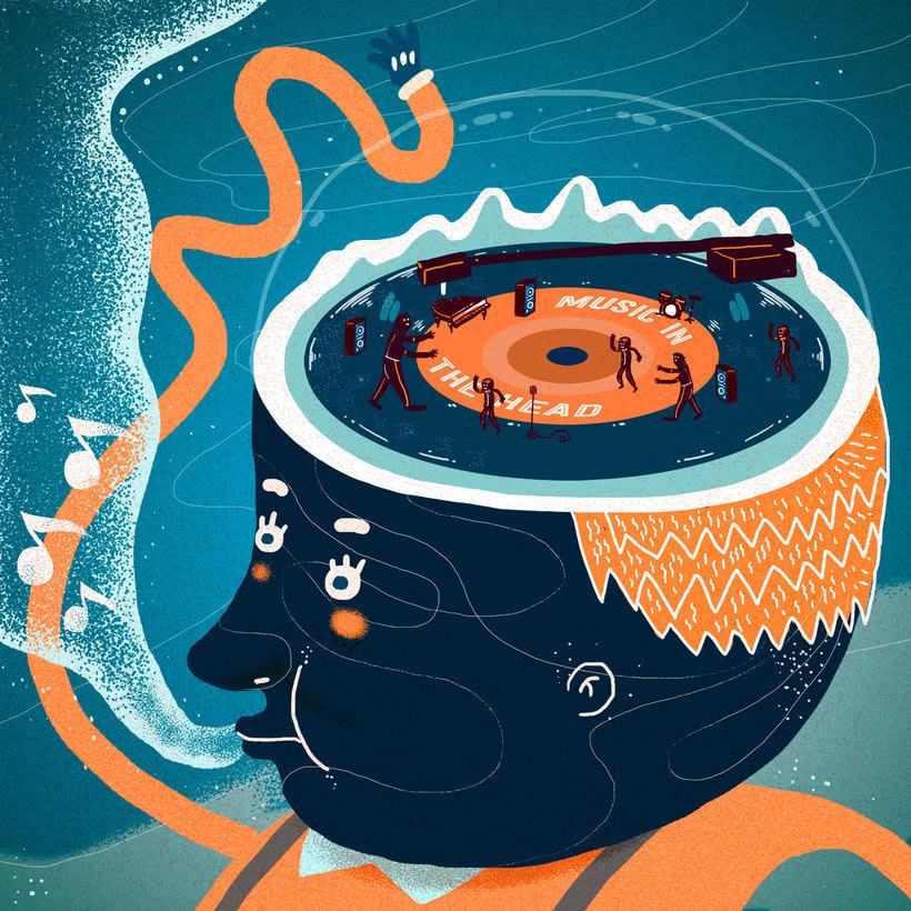 El colombiano Diego Bedoya ilustra inspirado en los 90's  11
