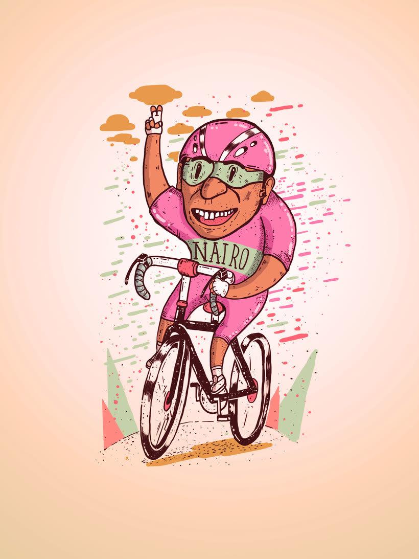 El colombiano Diego Bedoya ilustra inspirado en los 90's  16